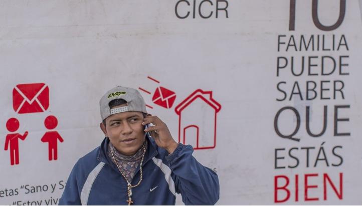 ผู้อพยพจากเม็กซิโกกับการแจ้งข้อมูลสำคัญผ่านแอพพลิเคชั่น WhatsApp