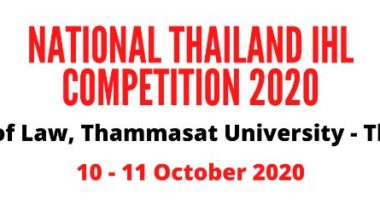 IHL Moot Court and Role Play Competition 2020